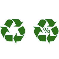 Símbolos internacionales de reciclaje