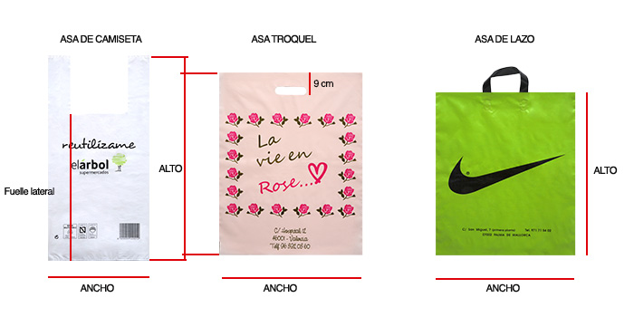 0e46df766 Tipos de bolsas de plástico: Bolsas adaptadas a tu negocio