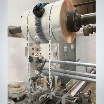 Maquinaria bolsas polipropileno microperforado