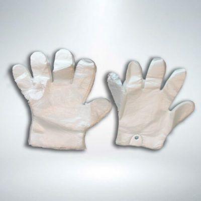 guantes plástico desechable
