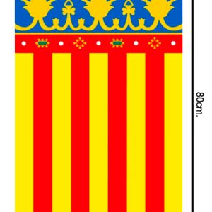 Bandera de plastico medidas 50x80cm