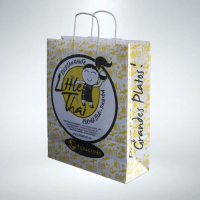 Bolsa de papel Little Thai