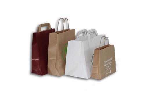 dd7f09820 Bolsas de Papel para comercio - Bolsas tipo Kraft al mejor precio