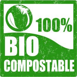 Bolsas 100% compostables