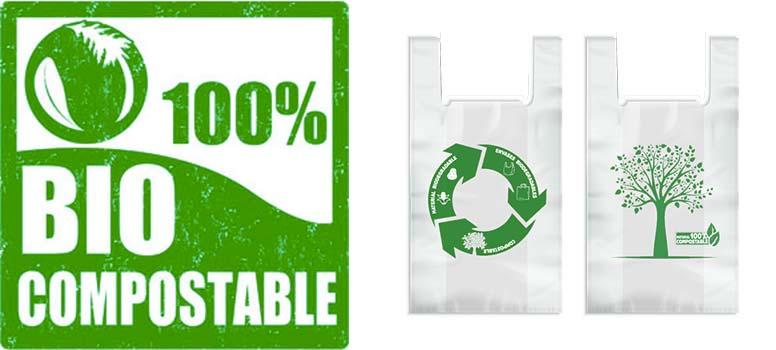 Qué es una bolsa compostable