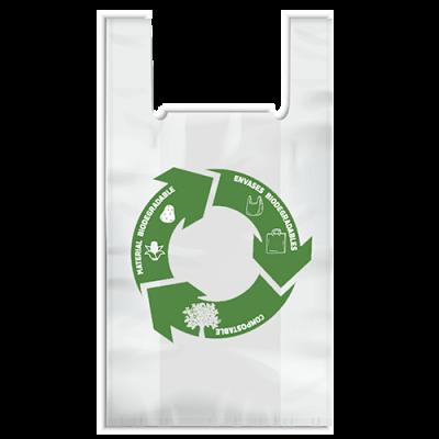 Bolsa compostable biodegradable